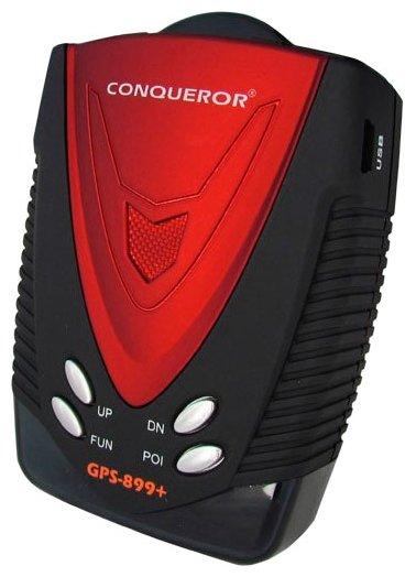 Радар-детектор Conqueror GPS-899+