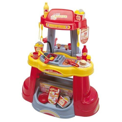 цена на Кухня Palau Toys Бистро 0155 красный/желтый