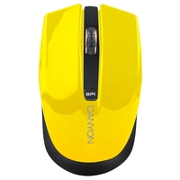 Мышь Canyon CNS-CMSW5Y Yellow USB