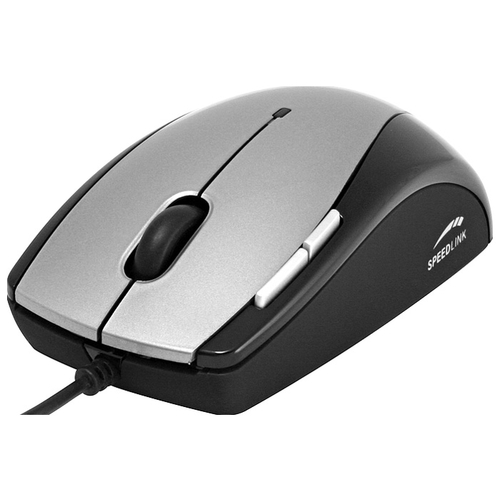 Мышь SPEEDLINK Spine Optical Desktop Mouse SL-6378-SGY Silver-Black USB