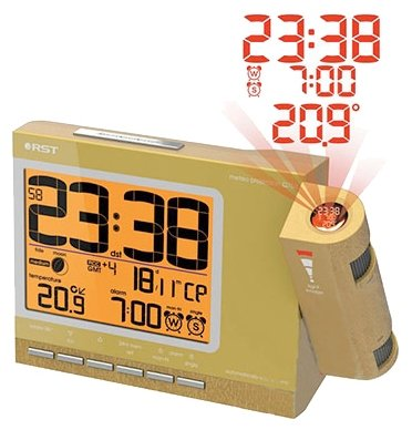 Часы с термометром RST 32754 фото 1