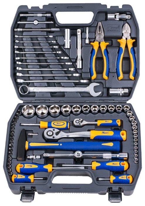 Набор инструментов KRAFT KT 700677 (73 предм.) — купить по выгодной цене на Яндекс.Маркете