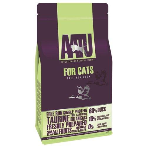 Корм для кошек AATU беззерновой, с уткой 1 кг
