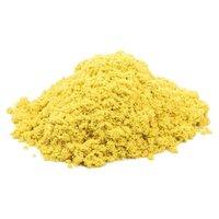 Кинетический песок Космический песок базовый желтый 1 кг пластиковый контейнер