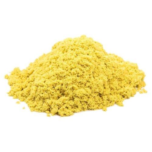 Кинетический песок Космический песок базовый желтый 1 кг пластиковый контейнерКинетический песок<br>