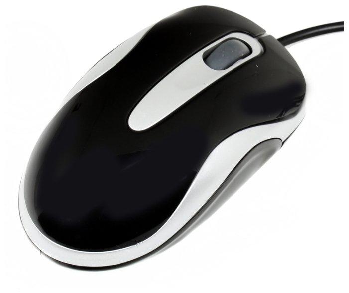Мышь 3Cott M-140 Black-Silver USB