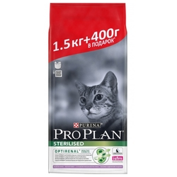 Корм для кошек Purina Pro Plan Sterilised feline Adult 7+ with Turkey dry