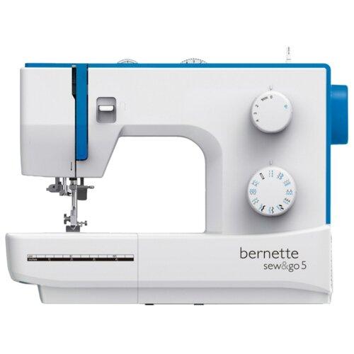 Швейная машина Bernina Bernette Sew&Go 5, бело-голубой