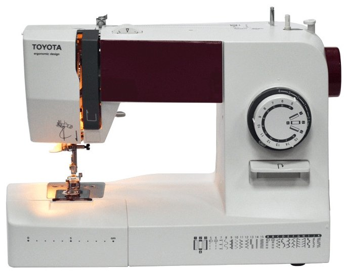 Сравнение с швейная машина Toyota ERGO26D
