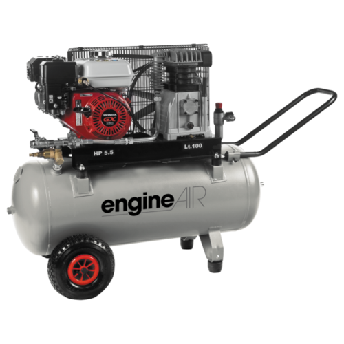 Компрессор масляный ABAC EngineAIR A39B/100 5HP, 100 л, 4 кВт