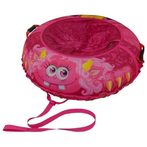 Купить Тюбинг Митек Монстрик Пинки 95 см розовый, Тюбинги