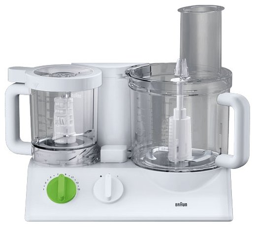 Braun FX 3030 - кухонный комбайн (White/Green)