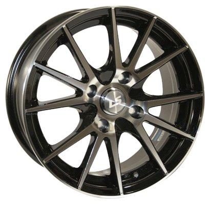 1. LS Wheels 143 6,5x15 5x100 ET 38 Dia 57,1 (черный)