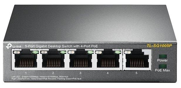 Коммутатор TP-LINK Коммутатор TL-SG1005P