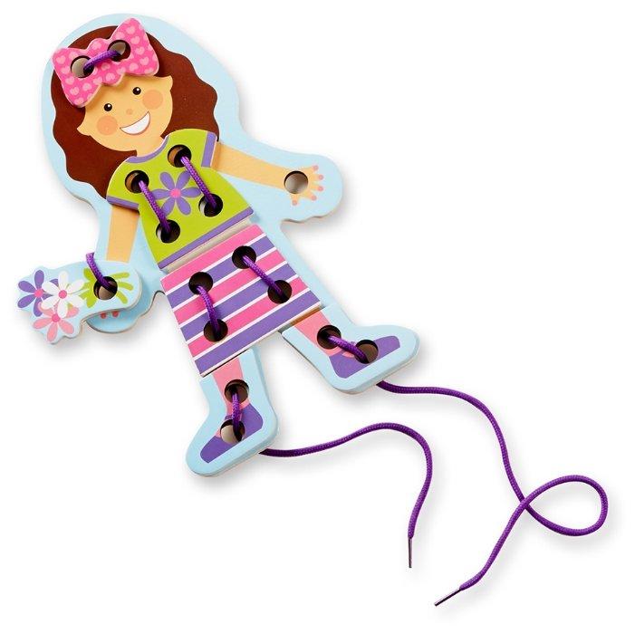 Шнуровка Melissa & Doug Первые навыки Кукла (9496)
