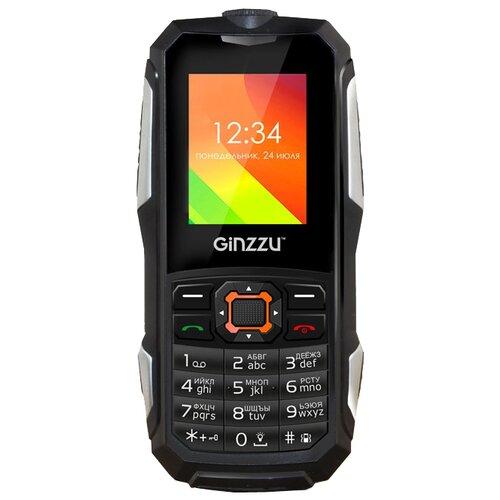 Телефон Ginzzu R50 черный телефон
