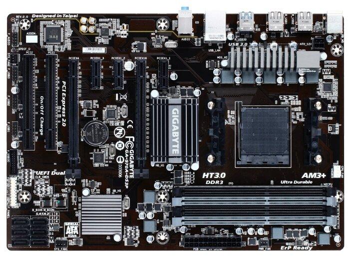 Материнские платы GIGABYTE GA-970A-DS3P rev2.0 (RTL)