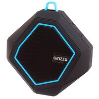 Компьютерная акустика Портативная акустика Ginzzu GM-871B черный
