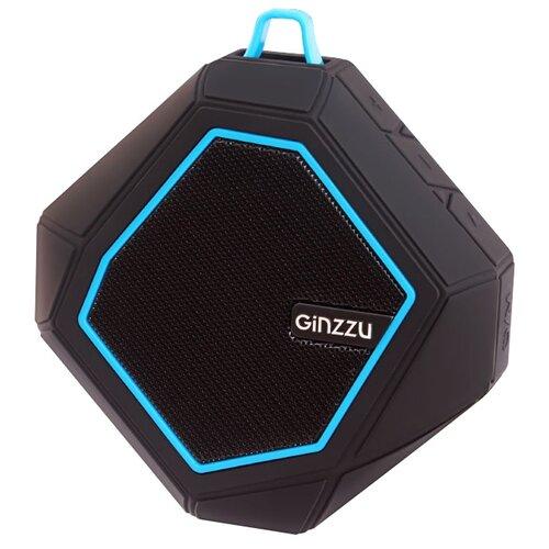 цена на Портативная акустика Ginzzu GM-871B черный