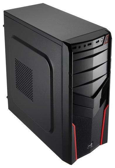 AeroCool Компьютерный корпус AeroCool V2X Red Edition Red