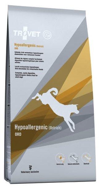Корм для собак TROVET Dog Hypoallergenic OPD (Ostrich) dry