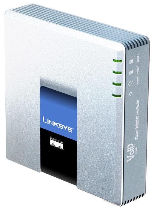 Linksys Адаптер для VoIP-телефонии Linksys SPA3102