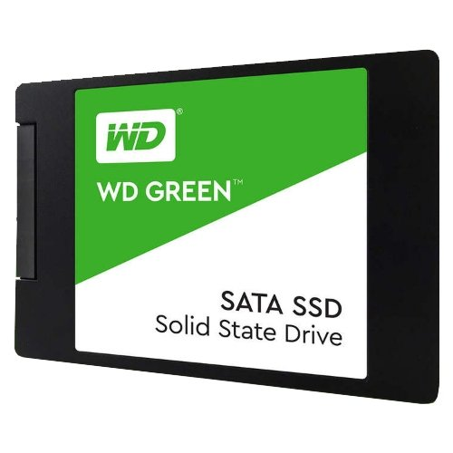 Твердотельный накопитель Western Digital WD GREEN PC SSD 240 GB (WDS240G2G0A) твердотельный накопитель ssd m 2 240gb western digital green read 540mb s write 465mb s sataiii wds240g2g0b