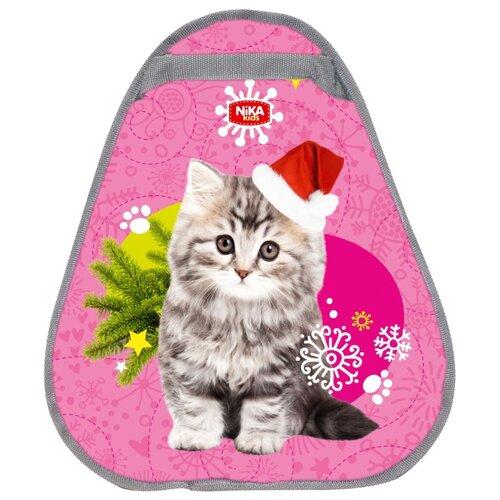 Ледянка Nika ЛГ46 розовый/с котенком