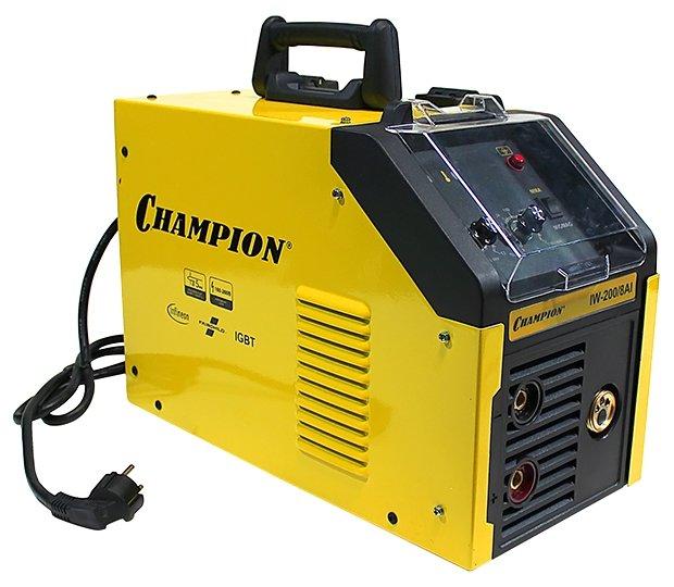 Сварочный аппарат CHAMPION IW-200/8 AI (MIG/MAG, MMA)