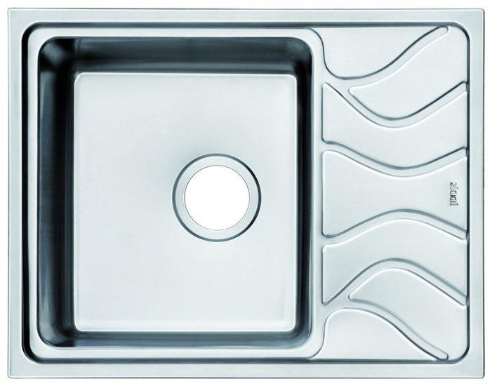 Врезная кухонная мойка IDDIS Reeva REE61SLi77 61.5х48см нержавеющая сталь