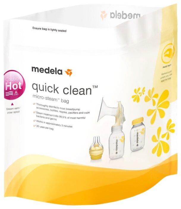 Пакеты для стерилизации Medela Quick Clean