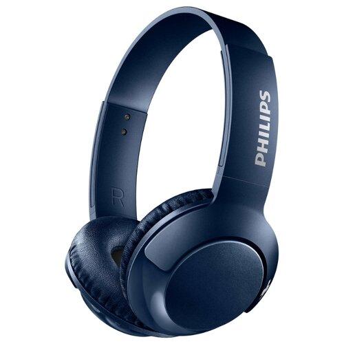 Купить Беспроводные наушники Philips BASS+ SHB3075 синий