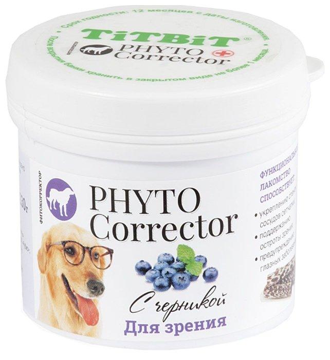 Лакомство для собак Titbit Фитокорректор с черникой
