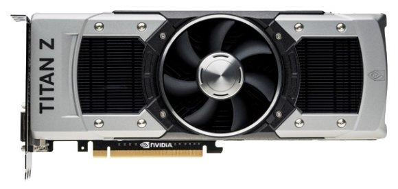 Palit GeForce GTX TITAN Z 705Mhz PCI-E 3.0 12288Mb 7000Mhz 768 bit 2xDVI HDMI HDCP