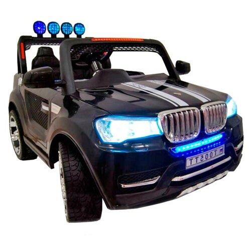 Купить RiverToys Автомобиль BMW T005TT, черный, Электромобили