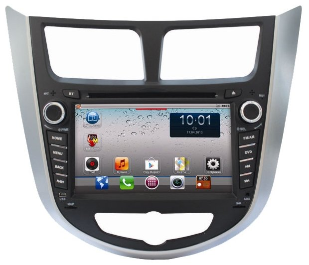 Автомагнитола CA-FI DL700800-0050 Hyundai Solaris