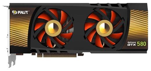 Palit GeForce GTX 580 783Mhz PCI-E 2.0 3072Mb 4020Mhz 384 bit 2xDVI HDMI HDCP