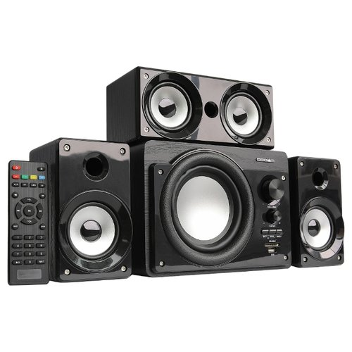 цена на Компьютерная акустика CROWN MICRO CMBS-390 черный