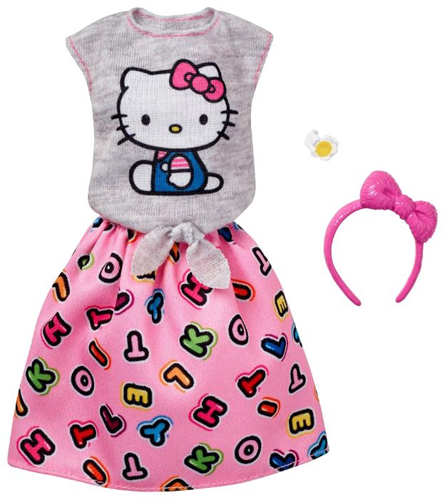 Barbie Юбка и футболка с аксессуарами для Барби FKR66/FKR68