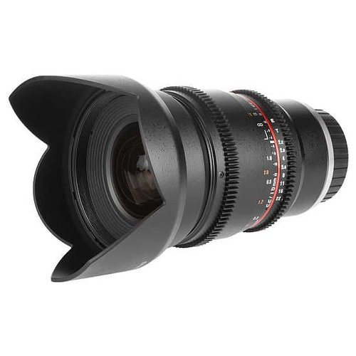 Фото - Объектив Samyang 16mm T2.2 ED AS UMC CS VDSLR Canon EF-S объектив samyang 50mm f 1 4 as umc canon ef