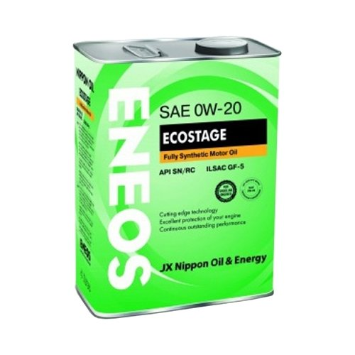 Моторное масло ENEOS Ecostage SN 0W-20 4 л