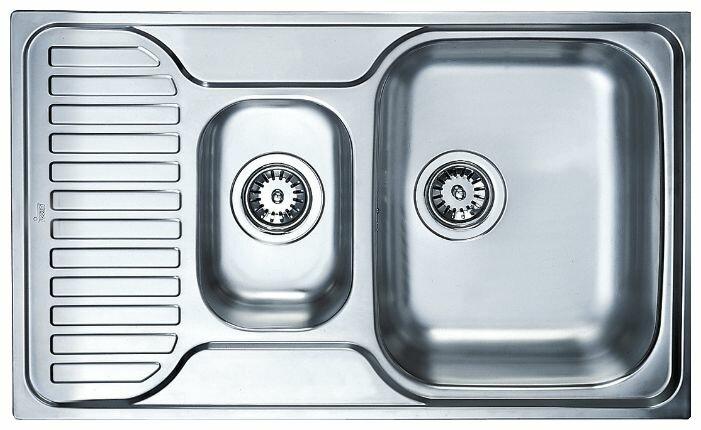Врезная кухонная мойка TEKA Princess 1 1/2B 1/2D