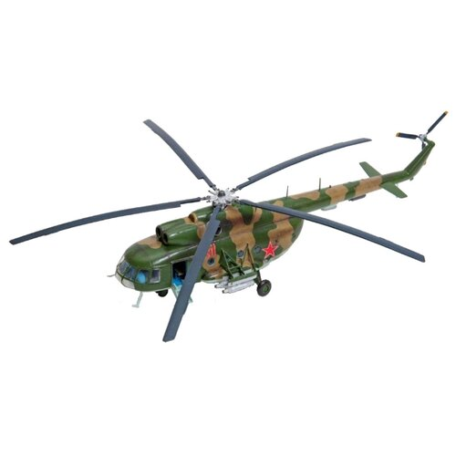 Купить Сборная модель ZVEZDA Советский многоцелевой вертолет Ми-8Т (7230PN) 1:72, Сборные модели