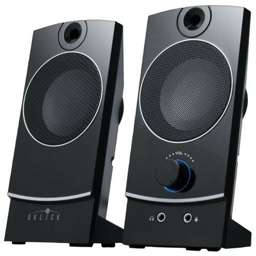 цена на Компьютерная акустика OKLICK OK-118 черный