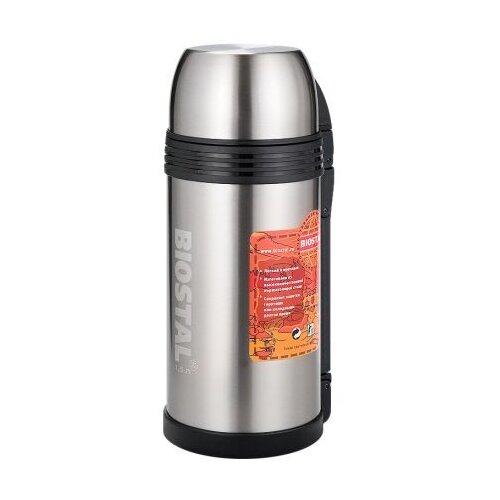 Классический термос Biostal NGP-1500P, 1.5 л серебристый