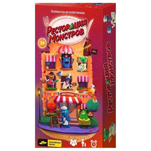 Настольная игра Cosmodrome Games Ресторация монстровНастольные игры<br>