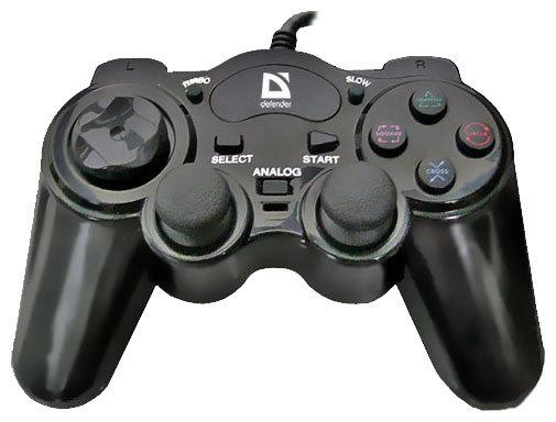 Геймпад Defender GAME RACER TURBO, USB-PS