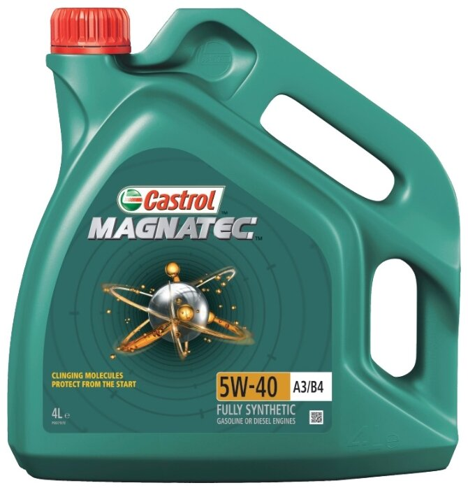Моторное масло Castrol Magnatec 5W-40 А3/В4 4 л