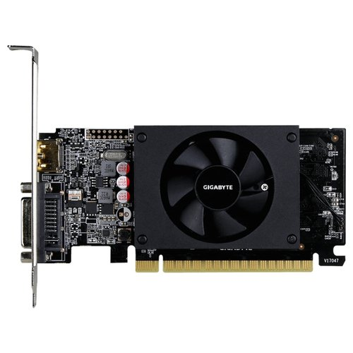 Видеокарта GIGABYTE GeForce GT 710 2GB (GV-N710D5-2GL) Retail