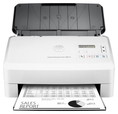 Сканер HP ScanJet Enterprise Flow 5000 s4
